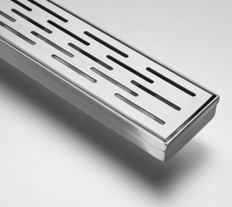 Stainless steel linear shower channel drainer, available wide range of size and also can give customize size as per customer need and requirement